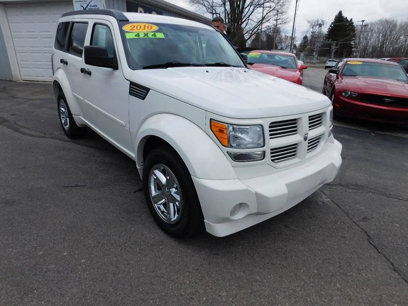 2010 Dodge Nitro 4x4 Sxt 4dr Suv In Onsted Mi D D Auto Sales Of