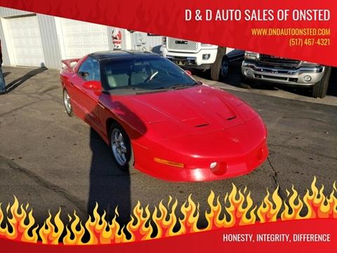 1997 Pontiac Firebird for sale in Onsted   Brooklyn, MI