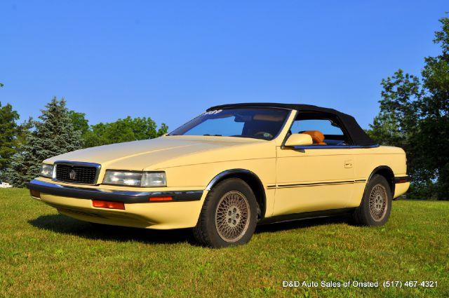 1989 Chrysler Tc Turbo 2dr Convertible In Onsted MI