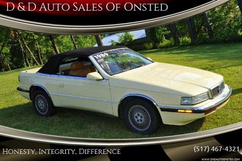 1989 Chrysler TC for sale in Onsted   Brooklyn, MI