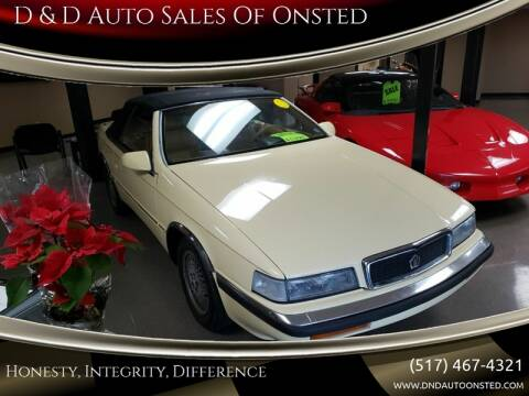 1989 Chrysler TC Turbo for sale at D & D Auto Sales Of Onsted in Onsted   Brooklyn MI