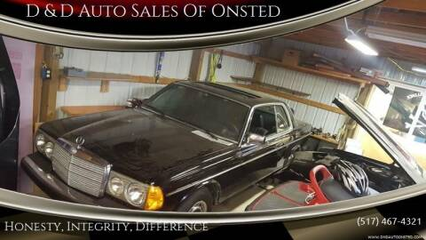 1979 Mercedes-Benz 300-Class for sale at D & D Auto Sales Of Onsted in Onsted   Brooklyn MI