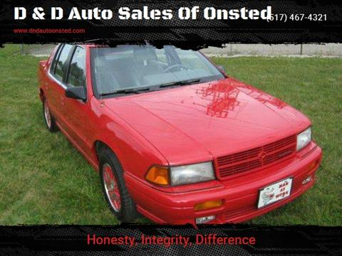 1991 Dodge Spirit for sale in Onsted   Brooklyn, MI