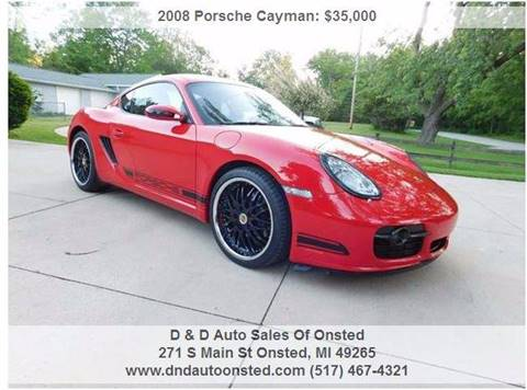 2008 Porsche Cayman for sale in Onsted, MI
