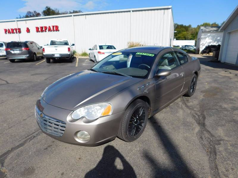 2003 chrysler sebring lxi 2dr coupe in onsted mi d d auto 5950 sciox Images