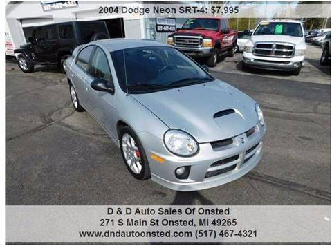 2004 dodge neon srt 4 for sale in onsted mi. Cars Review. Best American Auto & Cars Review