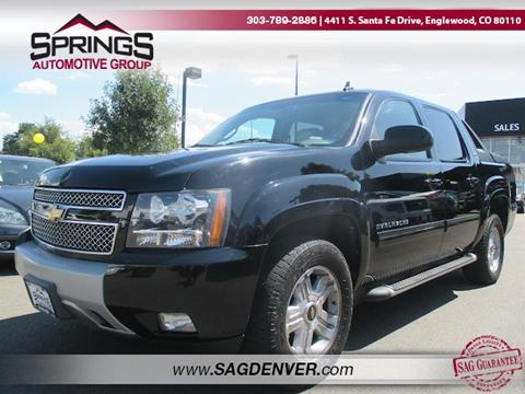 chevrolet avalanche for sale in englewood co. Black Bedroom Furniture Sets. Home Design Ideas
