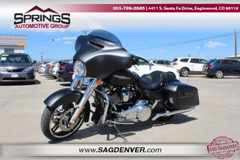 2017 Harley-Davidson Street Glide for sale in Englewood, CO