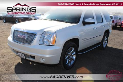2009 GMC Yukon Denali for sale at Springs Automotive Group #2 in Englewood CO