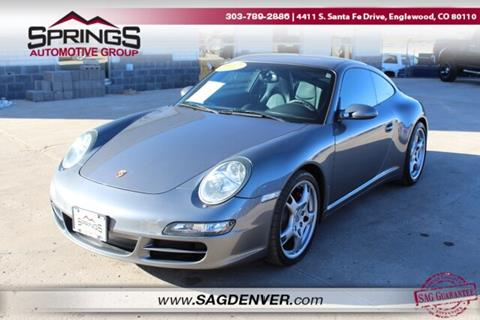 2007 Porsche 911 for sale at Springs Automotive Group #2 in Englewood CO