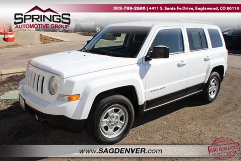 2015 Jeep Patriot Sport for sale at Springs Automotive Group #2 in Englewood CO