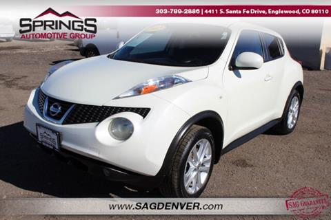 2012 Nissan JUKE SL for sale at Springs Automotive Group #2 in Englewood CO