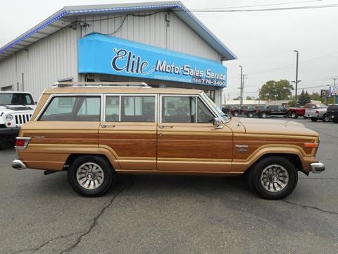 1983 Jeep Wagoneer for sale in Warren, MI