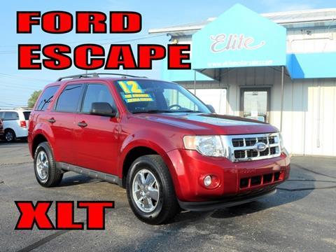 2012 Ford Escape for sale in Warren, MI