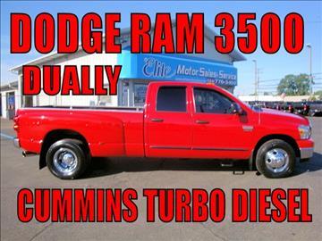 2007 Dodge Ram Pickup 3500 for sale in Warren, MI