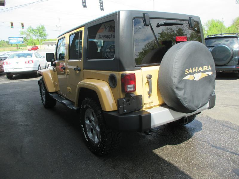2013 Jeep Wrangler Unlimited 4x4 Sahara 4dr SUV - Valparaiso IN