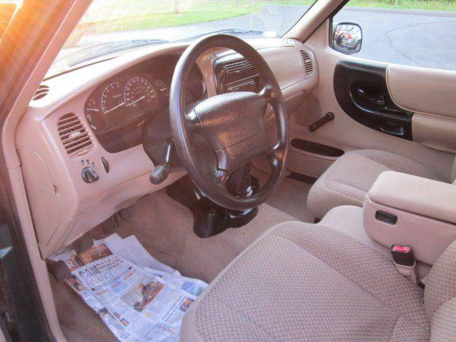 1999 Ford Ranger 2dr XLT Standard Cab Stepside SB - Conover NC
