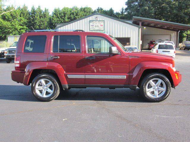 2008 Jeep Liberty 4x4 Limited 4dr SUV - Conover NC