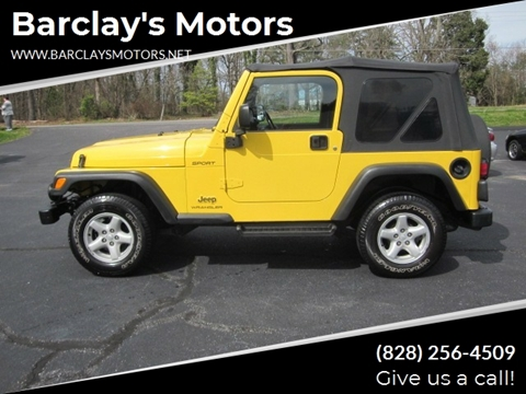 2003 Jeep Wrangler for sale in Conover, NC