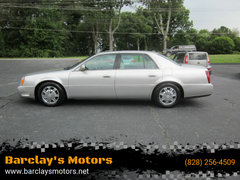 2004 Cadillac DeVille for sale at Barclay's Motors in Conover NC