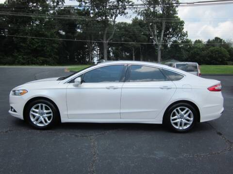 2014 Ford Fusion for sale at Barclay's Motors in Conover NC