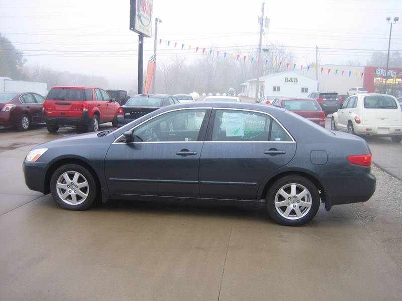 2005 honda accord ex v 6 4dr sedan in mt pleasant ia. Black Bedroom Furniture Sets. Home Design Ideas