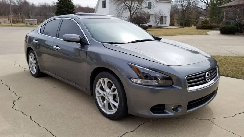 2014 Nissan Maxima 3.5 SV 4dr Sedan In Mt Pleasant IA - Schrader ...