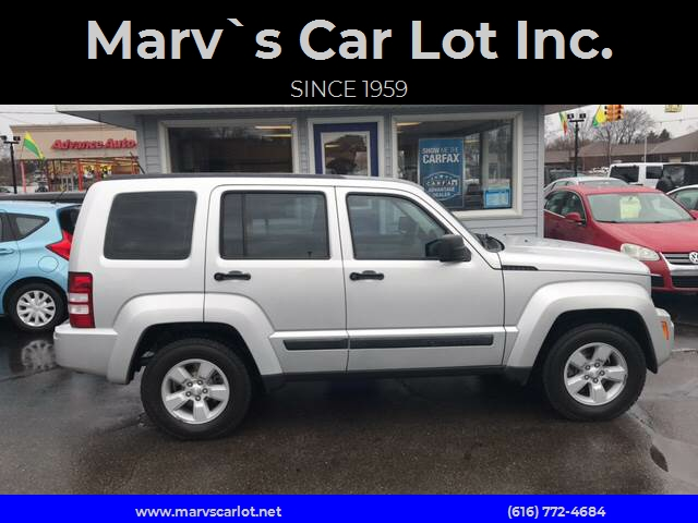 2008 Jeep Liberty For Sale At Marv`s Car Lot Inc. In Zeeland MI