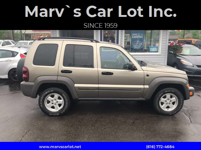 2007 Jeep Liberty For Sale At Marv`s Car Lot Inc. In Zeeland MI