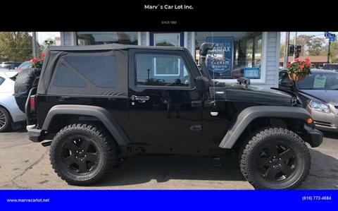 2012 Jeep Wrangler for sale in Zeeland, MI
