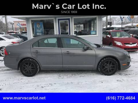 2012 Ford Fusion SEL for sale at Marv`s Car Lot Inc. in Zeeland MI