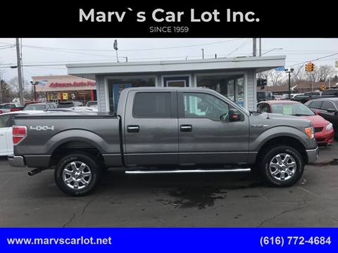 2013 Ford F-150 XLT for sale at Marv`s Car Lot Inc. in Zeeland MI