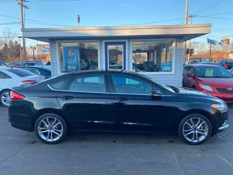 2017 Ford Fusion SE for sale at Marv`s Car Lot Inc. in Zeeland MI