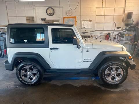 2014 Jeep Wrangler Sport for sale at Marv`s Car Lot Inc. in Zeeland MI