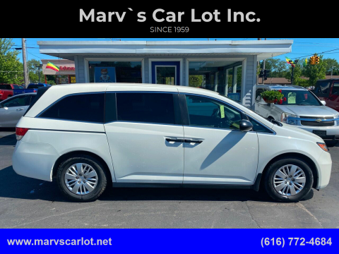 2015 Honda Odyssey for sale at Marv`s Car Lot Inc. in Zeeland MI