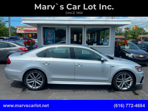 2017 Volkswagen Passat for sale at Marv`s Car Lot Inc. in Zeeland MI
