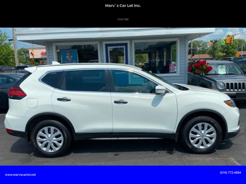 2017 Nissan Rogue for sale at Marv`s Car Lot Inc. in Zeeland MI