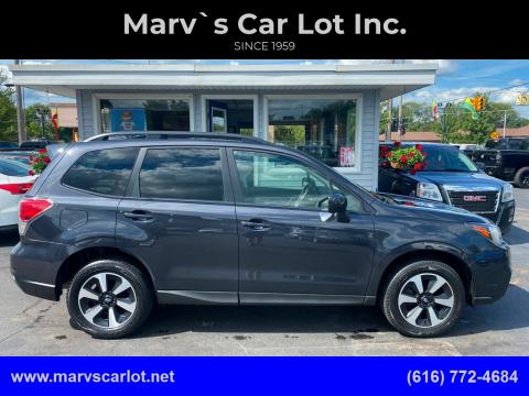 2017 Subaru Forester for sale at Marv`s Car Lot Inc. in Zeeland MI
