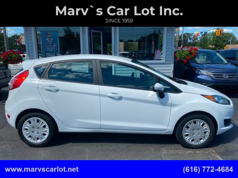 2016 Ford Fiesta for sale at Marv`s Car Lot Inc. in Zeeland MI