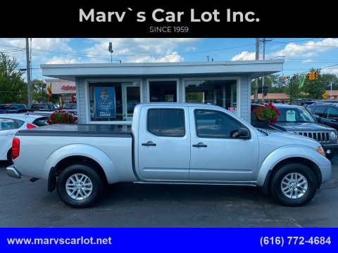 2017 Nissan Frontier for sale at Marv`s Car Lot Inc. in Zeeland MI