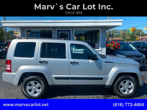 2012 Jeep Liberty for sale at Marv`s Car Lot Inc. in Zeeland MI