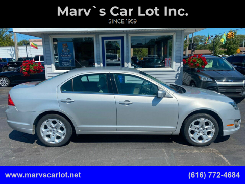 2010 Ford Fusion for sale at Marv`s Car Lot Inc. in Zeeland MI