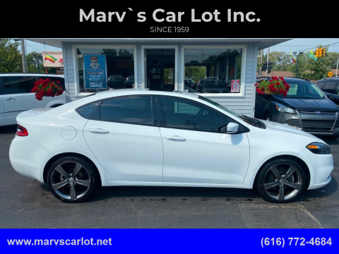2014 Dodge Dart for sale at Marv`s Car Lot Inc. in Zeeland MI