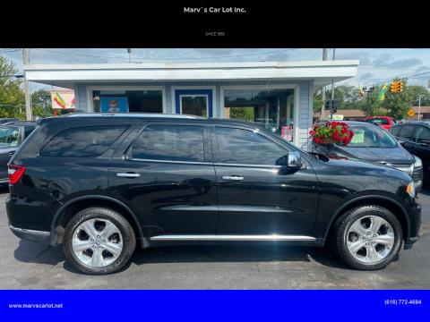 2014 Dodge Durango for sale at Marv`s Car Lot Inc. in Zeeland MI