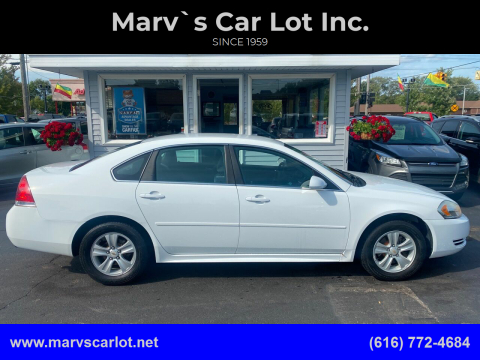 2013 Chevrolet Impala for sale at Marv`s Car Lot Inc. in Zeeland MI