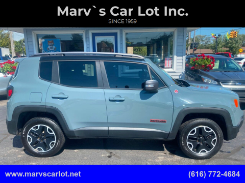 2015 Jeep Renegade for sale at Marv`s Car Lot Inc. in Zeeland MI