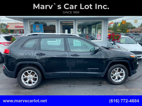 2014 Jeep Cherokee for sale at Marv`s Car Lot Inc. in Zeeland MI