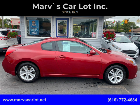 2013 Nissan Altima for sale at Marv`s Car Lot Inc. in Zeeland MI
