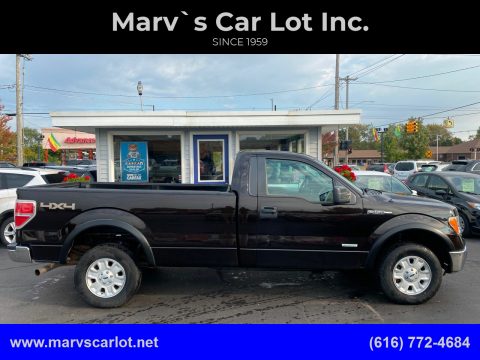 2013 Ford F-150 for sale at Marv`s Car Lot Inc. in Zeeland MI