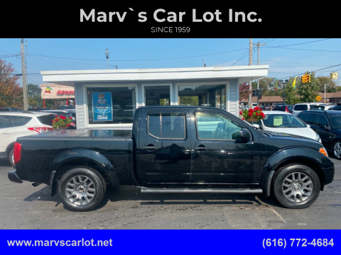 2012 Nissan Frontier for sale at Marv`s Car Lot Inc. in Zeeland MI